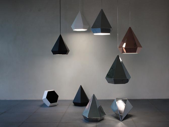 Diamonds lamp groep bij elkaar