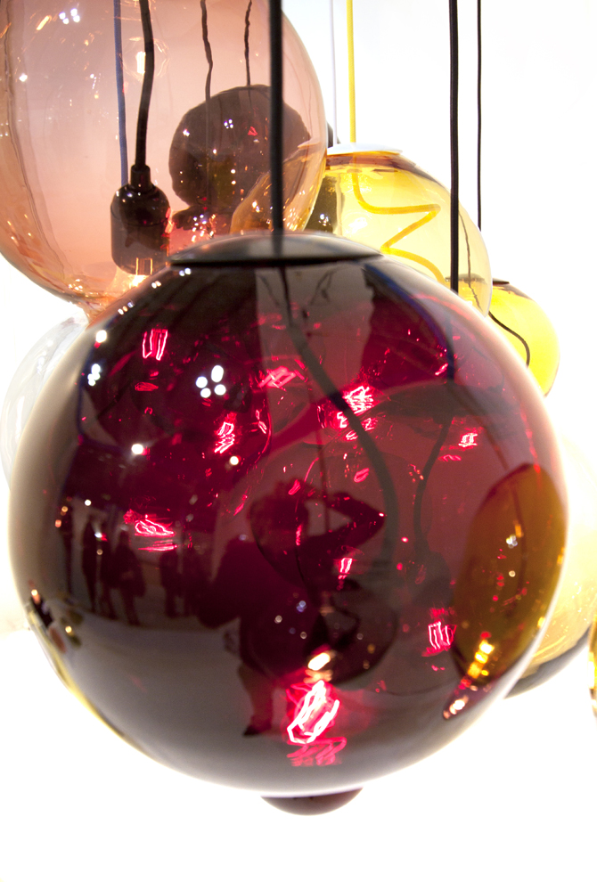 Kleurige hanglamp Meltdown