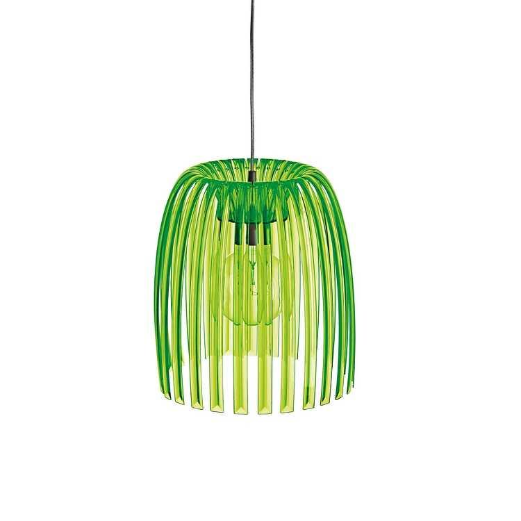 Colour blocking groene lamp