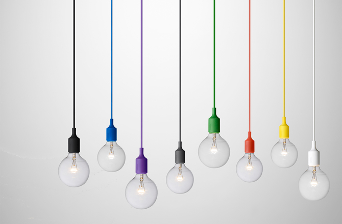 lamp met gekleurde kabel en fitting inspiraties showhome