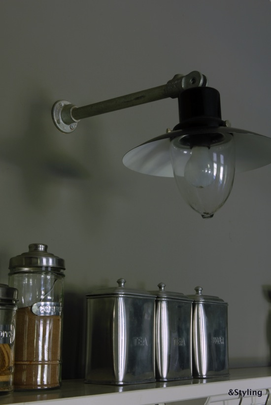 Lamp in keuken