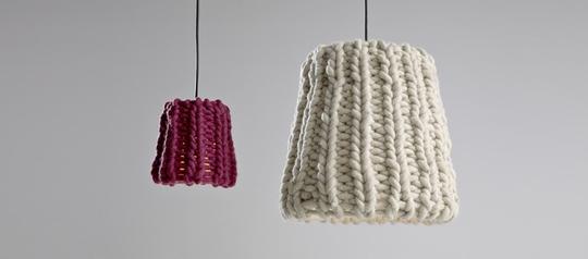 nieuwste trend gebreide lampenkappen