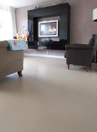 Gietvloer van Piet Boon zand