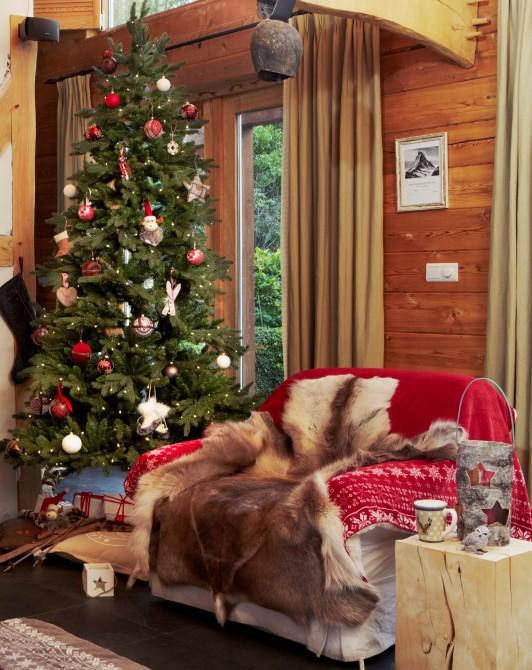 Chalet kerst huis