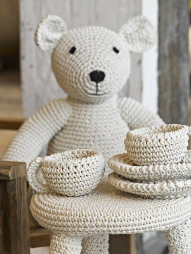 Kinderkamer thee drinken