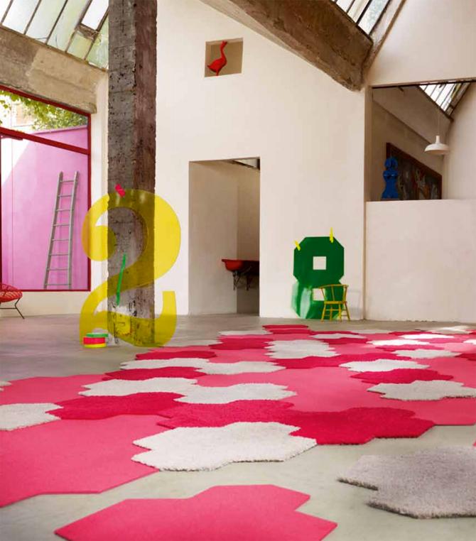 tapijttegels Island van Esprit