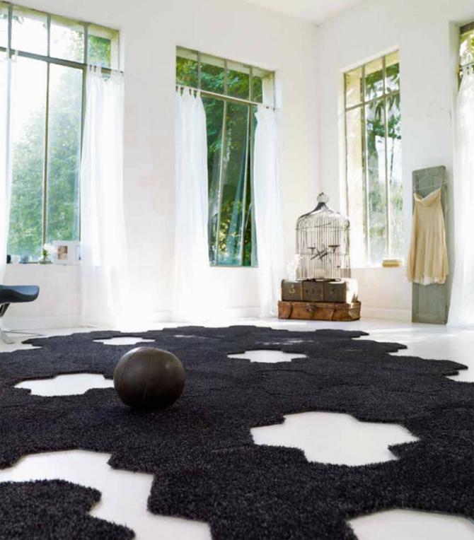 tapijttegels Island van Esprit Zwart