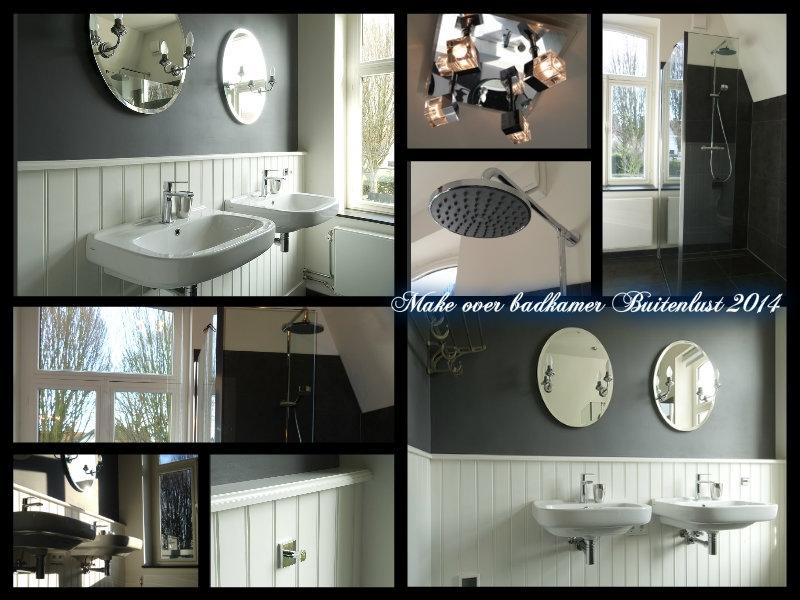 Binnenkijken interieur: Badkamer make-over monumentaal vakantiehuis Buitenlust
