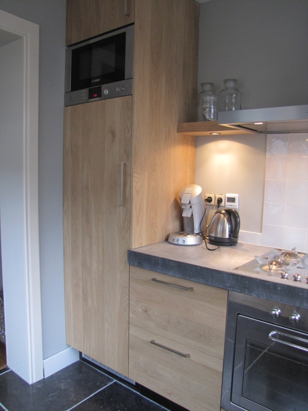 Landelijk strakke keuken interieur - Interieur decoratie badkamer ...