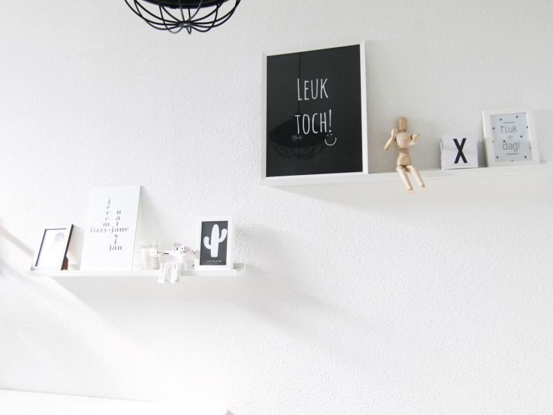 Binnenkijken interieur: Zwart wit wonen