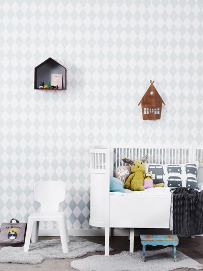 plek ledikant babykamer: de kamer van onze zoon! muren zijn eerst, Deco ideeën
