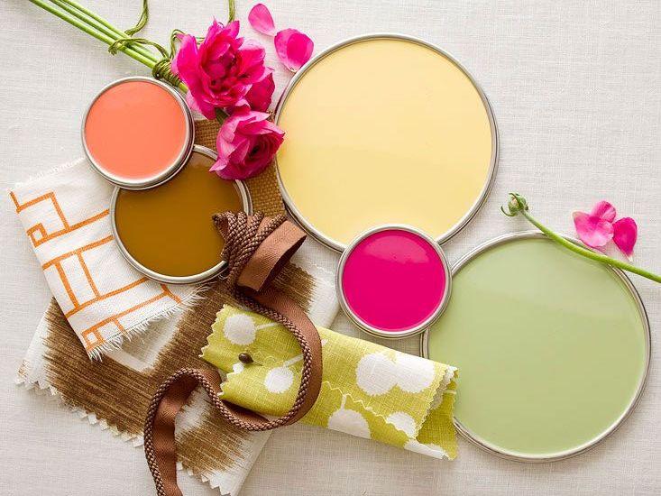 Breng kleur in je interieur met verf inspiraties for Kleur in je interieur