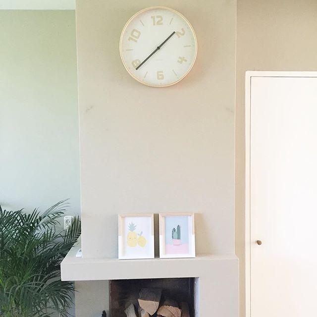 Make over woonkamer inspiraties for Zandkleur muur