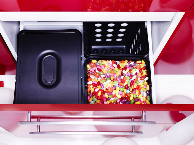 Rode Keuken Ikea : Keuken Met Eiland En Tafel : Design Keukens e d Snaidero keukens