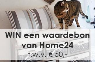 Win een waardebon van 50 Euro voor Home24!