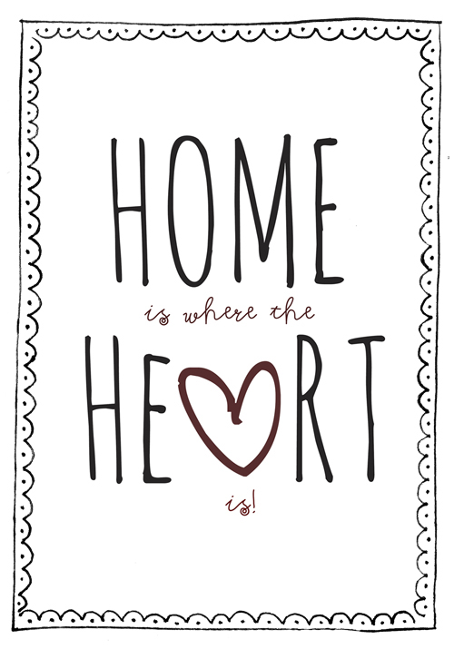 Home is where the heart is; Creëer jouw lievelingshuis