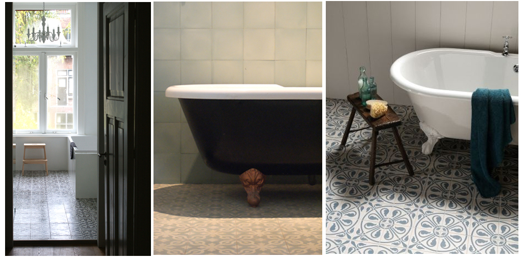 Blauw Mozaiek Badkamer ~ Tegels badkamer