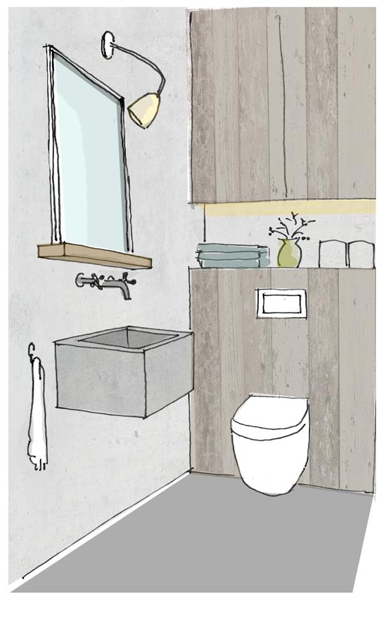 6 top tips voor een sprankelend toilet inspiraties - Inrichting van toiletten wc ...