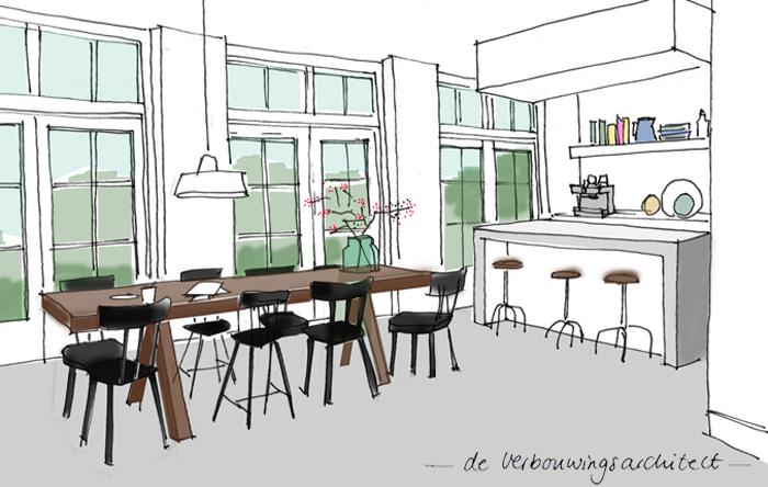 Een Gezellige Keuken : In 3 stappen een gezellige open keuken – Inspiraties – ShowHome.nl