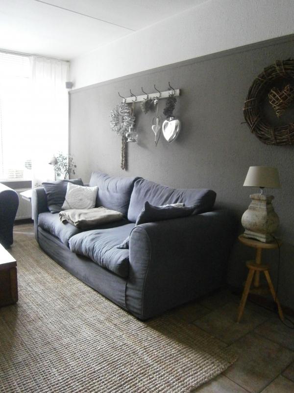Woonkamer interieur for Landelijke woonkamer foto s