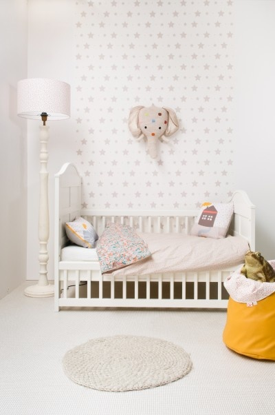 babykamer behang olifant ~ lactate for ., Deco ideeën