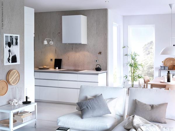 Keukenverlichting Zonder Bovenkasten : IKEA Metod Kitchen