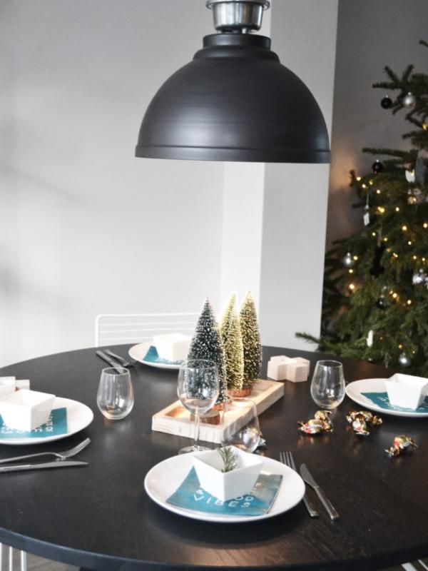 Binnenkijken interieur: Kersttafel