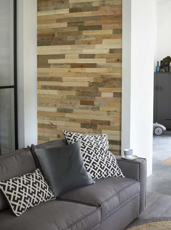 Hout hout hout inspiraties for Muurdecoratie hout