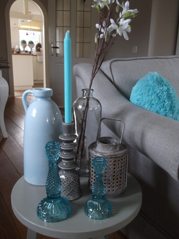 Awesome Turquoise Accessoires Woonkamer Gallery - House Design Ideas ...