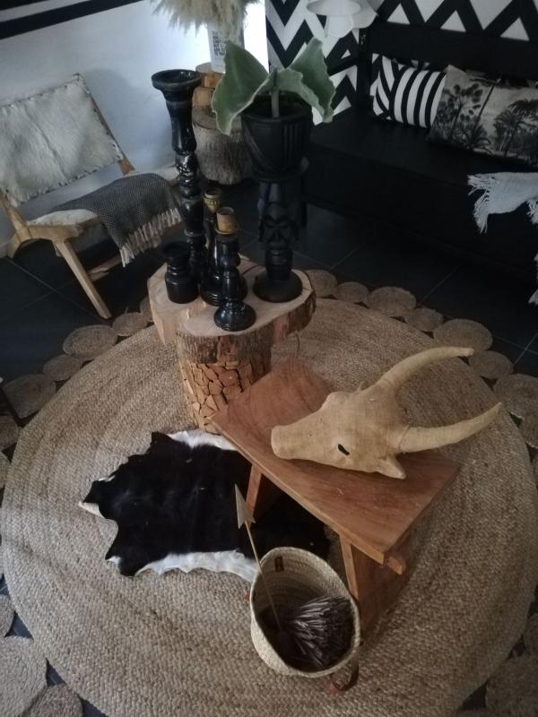 Binnenkijken interieur: Black & White Boho Vibes