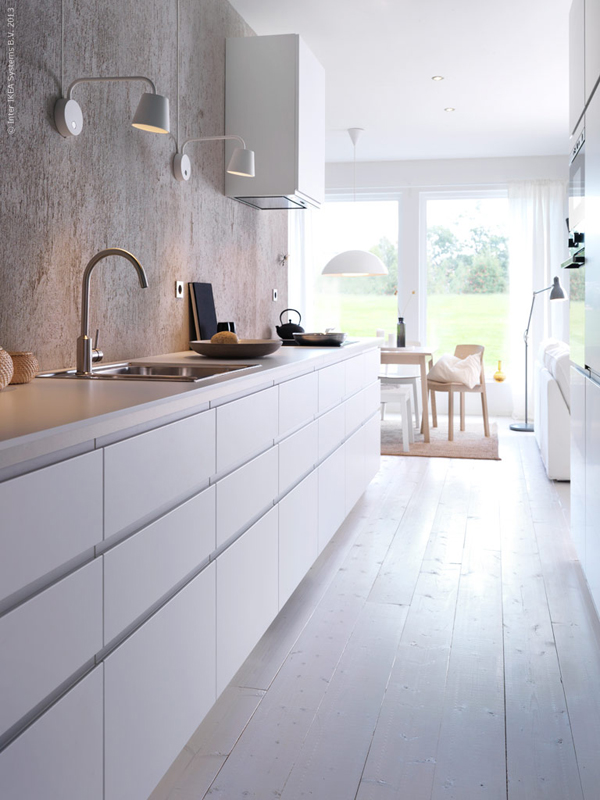 Keukenverlichting Ikea : White IKEA Metod Kitchen