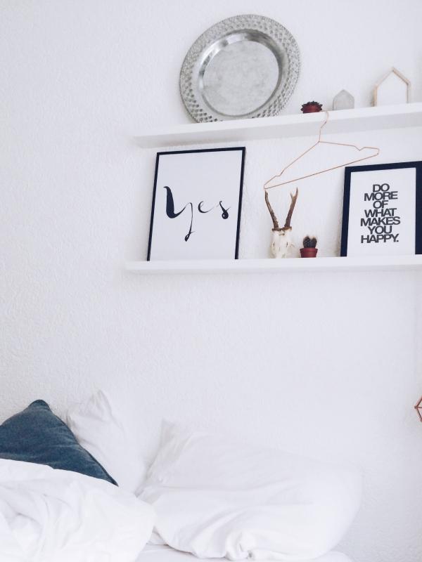 ... Scandinavische Stijl : Slaapkamer in scandinavische stijl interieur