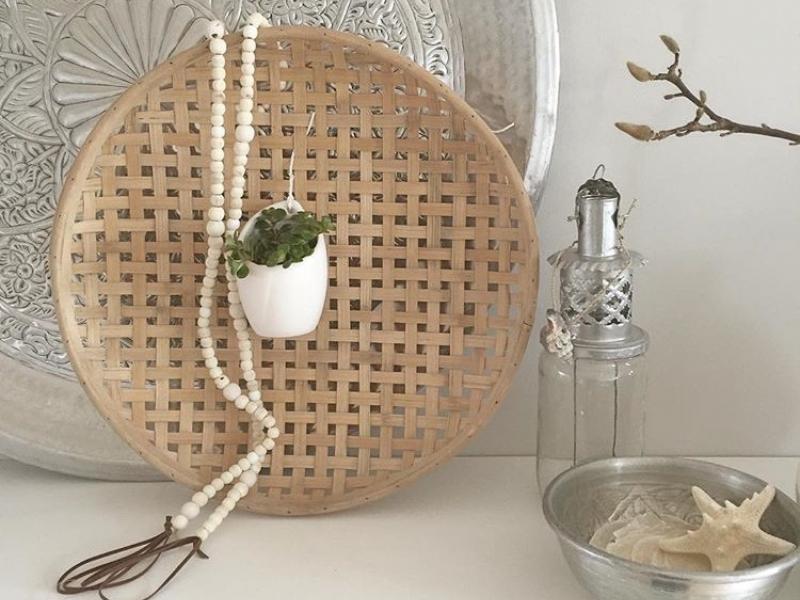 Binnenkijken interieur: Wit/naturel decoratie