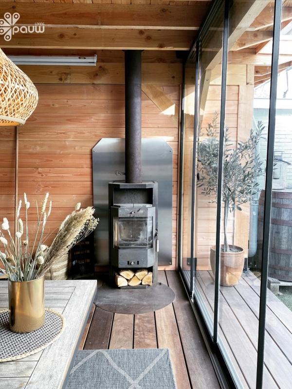 Binnenkijken interieur: Tuinkamer met schuifdeuren