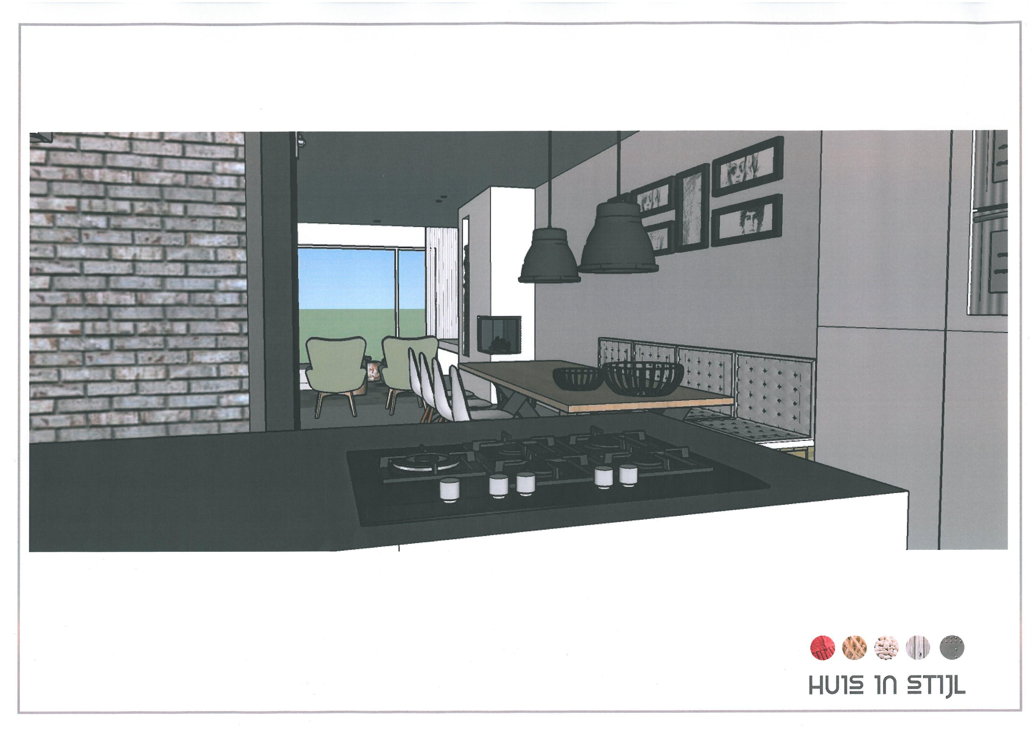 Keuken In Een Scandinavisch Huis : Scandinavisch met industriele ...