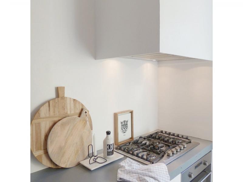 Achterwand Keuken Ideas : Witte keuken zonder achterwand interieur showhome.nl
