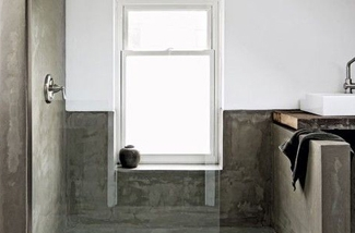 Gladde Wanden Badkamer : 4 x je badkamer zonder tegels inspiraties showhome.nl