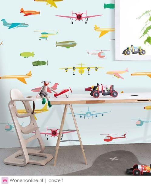 Behang voor de kinderkamer inspiraties - Modern behang voor volwassen kamer ...