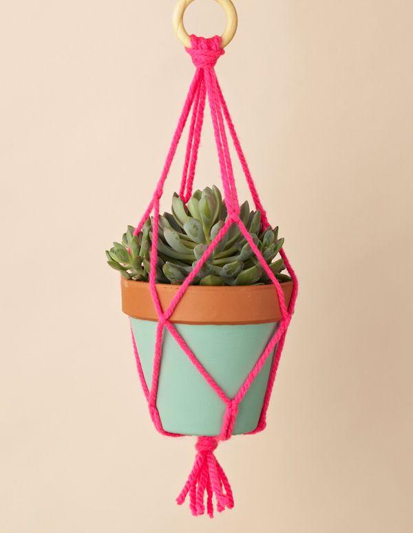 DIY: Planten hanger - Inspiraties - ShowHome.nl