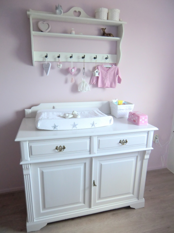 Landelijke babykamer interieur - Romantisch idee ...