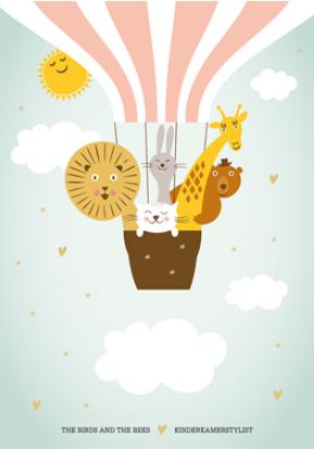 5 x free printable poster voor de kinderkamer - inspiraties, Deco ideeën