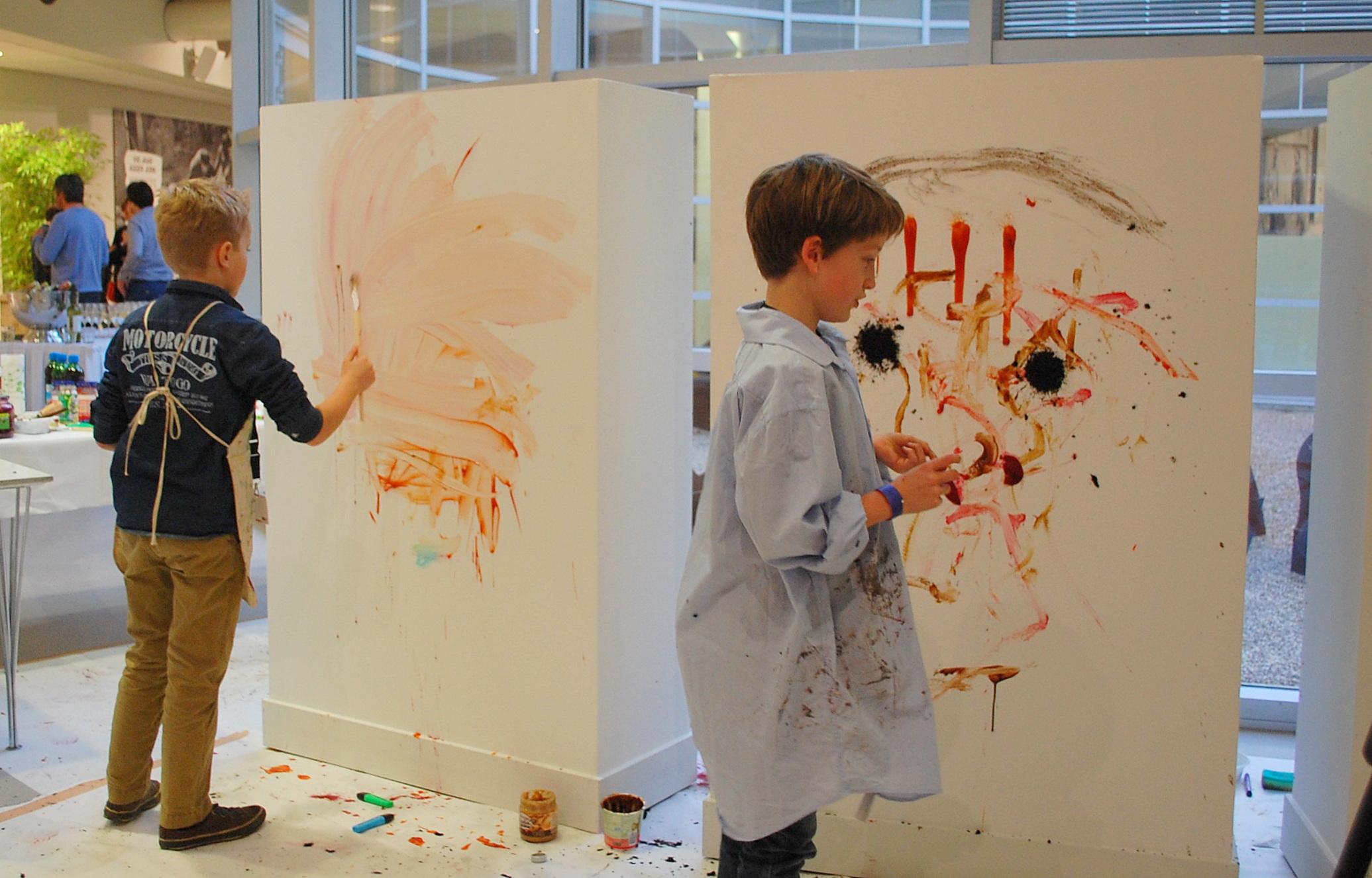 Maak een kunstwerk van je muur inspiraties - Maak een gang ...