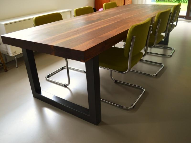 Binnenkijken interieur: industriele tafel