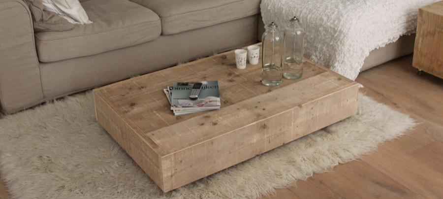 Een lage salontafel inspiraties - Wat op een salontafel ...