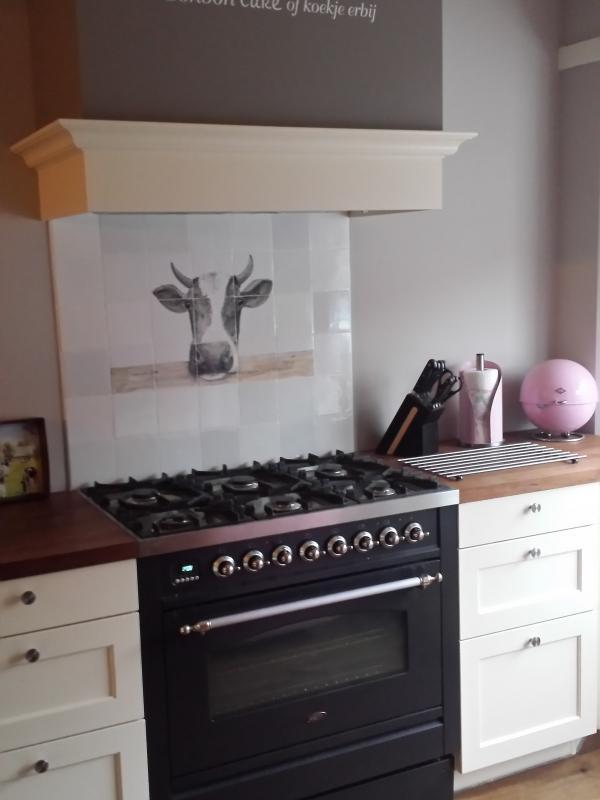 Keukens met ambachtelijke tegels   interieur   showhome.nl