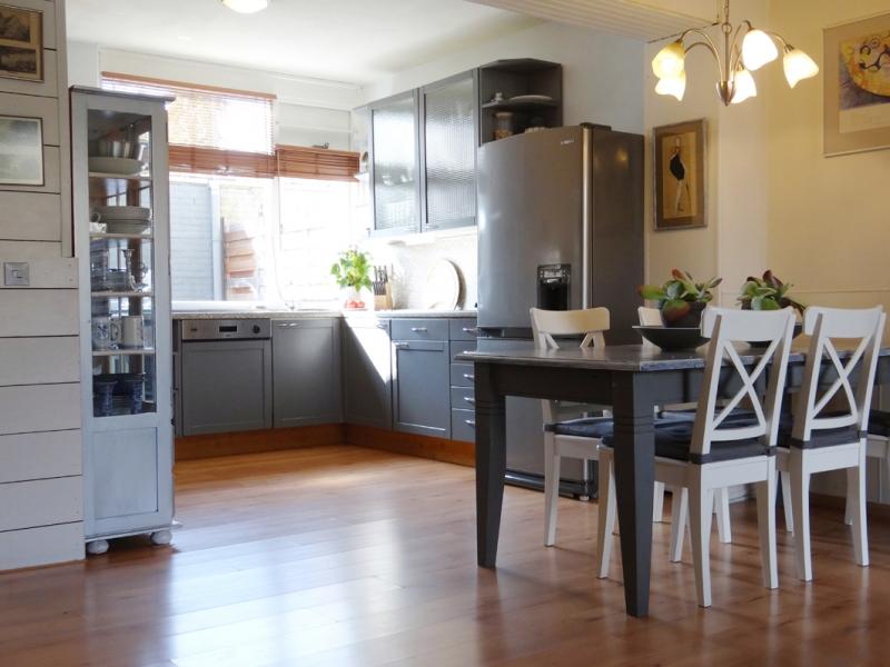 combinatie klassiek landelijk en modern interieur