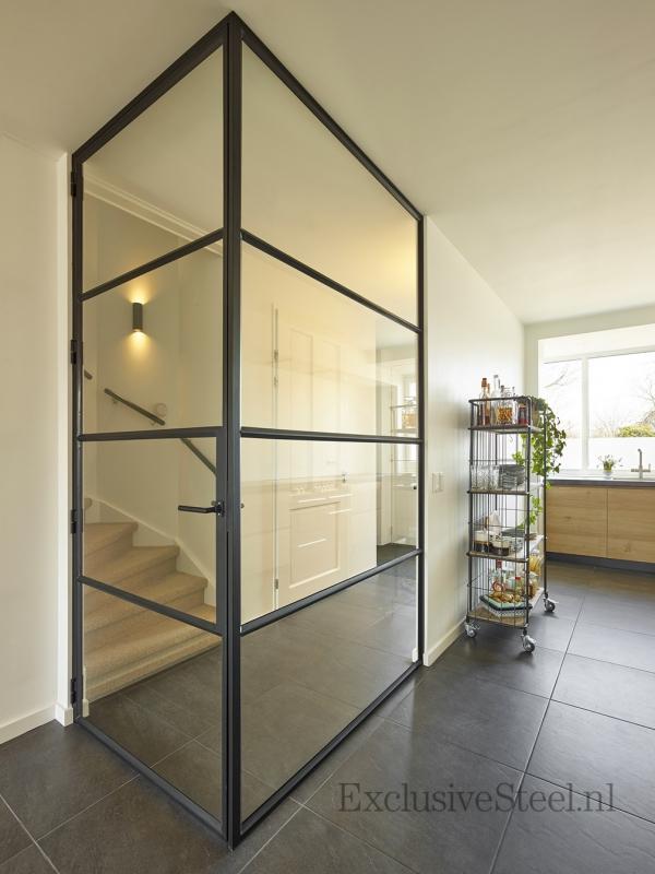 Binnenkijken interieur: Stalen deuren