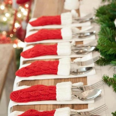 Christmas diningtables