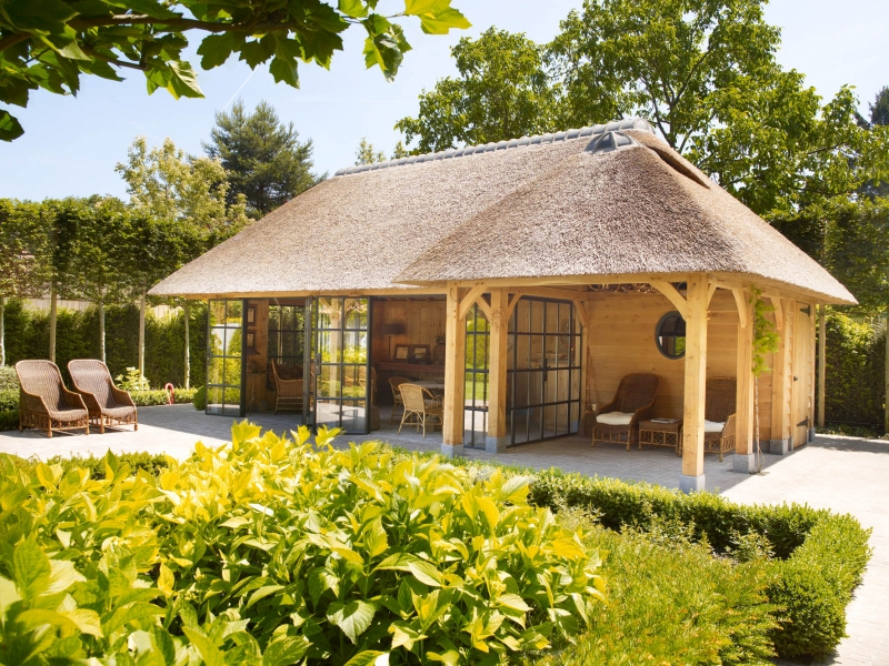 Eiken poolhouse interieur - Tuin en deco ...