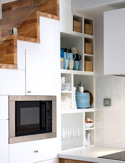 Keukenverlichting Zonder Bovenkasten : IKEA Small Space Stairs